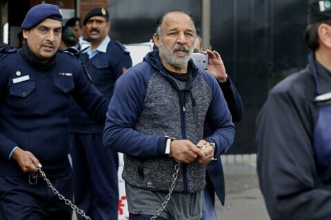 Pakistani arrested over UK killing wants to be tried at home