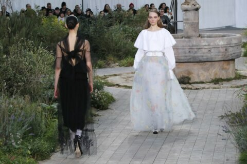 Chanel delves into founder's orphanage past in couture show
