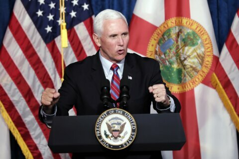 Pence courts evangelical Latino voters in Florida