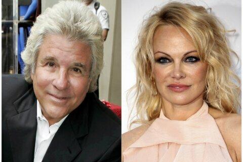 Pamela Anderson marries film producer Jon Peters
