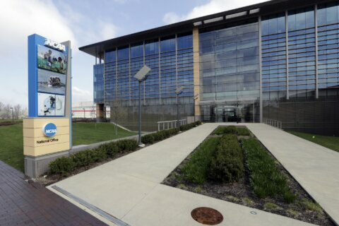 AP-NORC poll: 66% favor endorsement money for NCAA athletes
