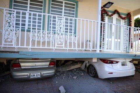 5.8 magnitude quake strikes Puerto Rico, damaging homes