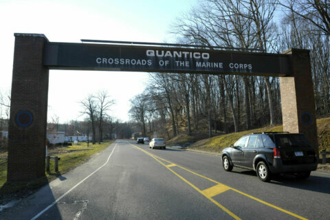 Loud noises, vibrations possible near Quantico during base training