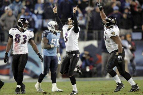 Former Titans see game vs. Ravens as chance to avenge losses
