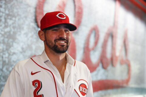 Reds' Castellanos returns to ballpark where he's comfortable