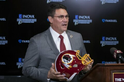 'I'll bet on me': New head coach Ron Rivera takes over in Washington