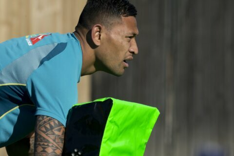 Folau moves to Europe, faces backlash over anti-gay views