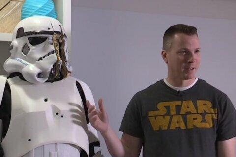 Utah man builds bulletproof stormtrooper suit with 3-D printer
