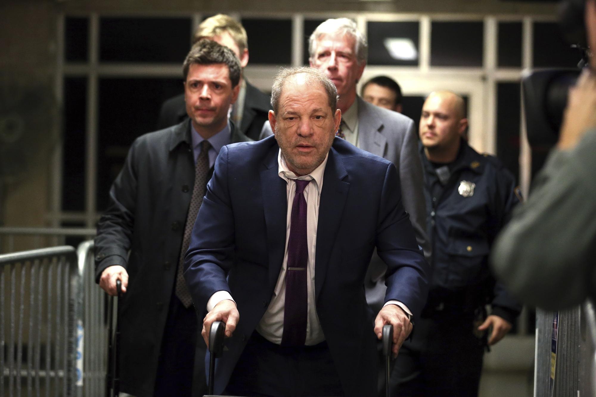 Harvey Weinstein NYC sex assault trial picks up...