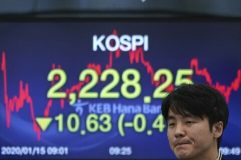 Asian shares decline on revived jitters over trade deal
