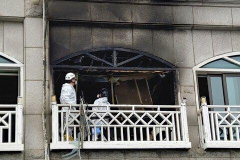 4 dead, 5 injured in explosion at South Korean motel