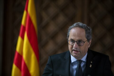Leader of Spain's Catalonia to call early regional election
