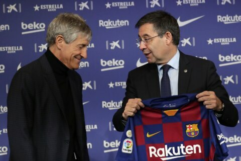 Barcelona denies role in social media attacks on players