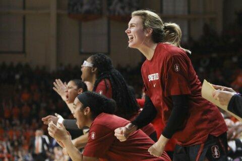 Pretchel's putback helps No. 6 Stanford slip past Colorado