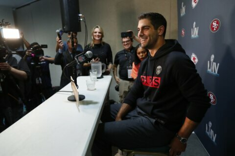 Garoppolo takes lessons from Brady into 1st Super Bowl start