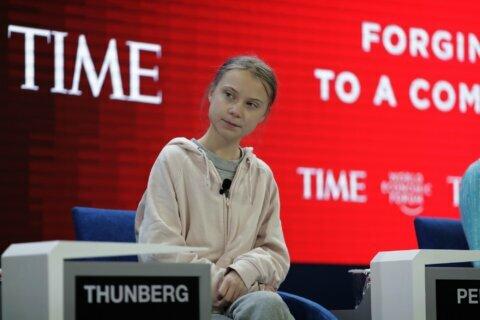 Backatcha: Thunberg returns Trump's climate jibe
