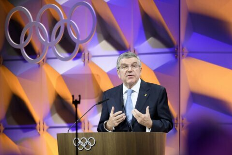 IOC president defends rules limiting Olympic protests