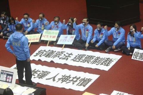 Suspected Chinese meddling focus in Taiwan presidential vote