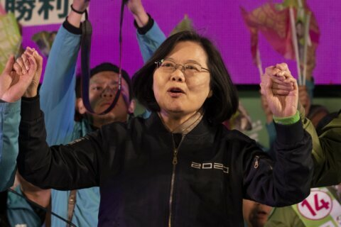Taiwan leader gets election boost from unlikely place: China