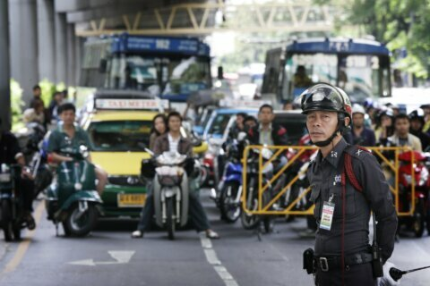 Thailand eases royal motorcade rules to unblock traffic