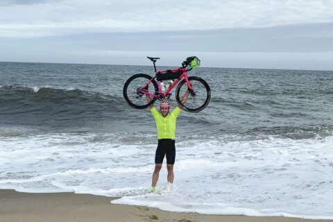 Real estate agent scales new heights with unique triathlon