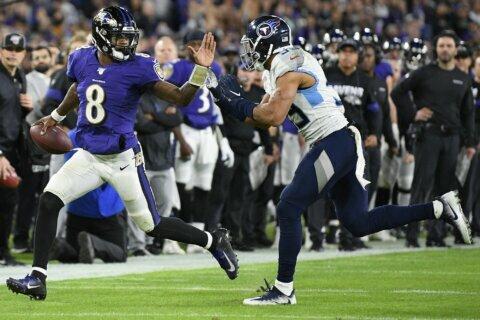 Jackson and Ravens can't sustain regular season success