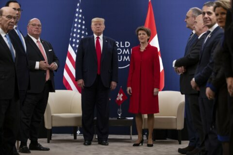 AP FACT CHECK: Trump's Davos remarks rife with distortion