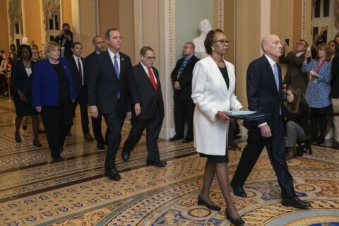 Trump's trial begins, senators vowing 'impartial justice'