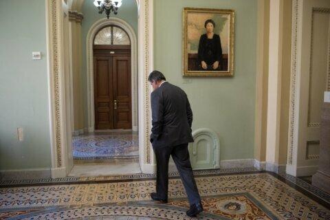Awake? Senators struggle to stay focused on impeachment