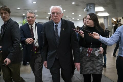 Sanders steps up appeals to women after flap with Warren
