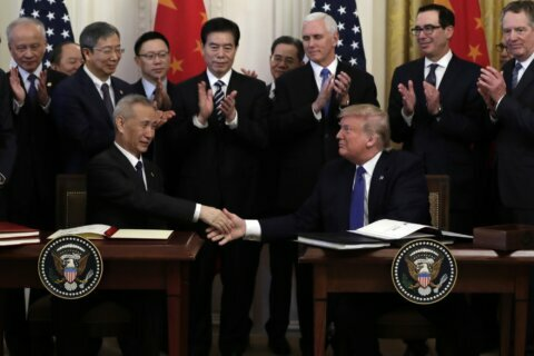 Trade deal: US eases sanctions, China to buy more US exports
