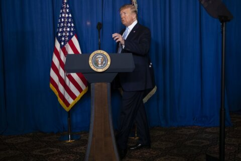 Trump stirs Mideast tensions despite talk of 'endless wars'
