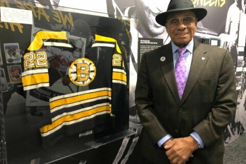 NHL's first black player stops in DC on national tour