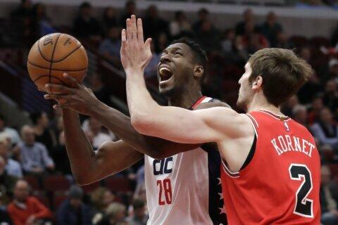 LaVine powers Bulls past Wizards 115-106