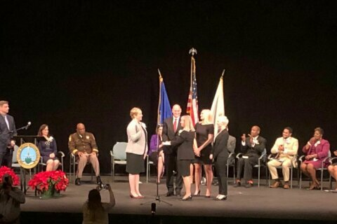 Sworn in: Democrat now leads Prince William County Board of Supervisors