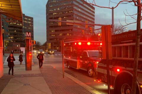 Firefighters describe rescue of woman struck by train at Court House Metro Station