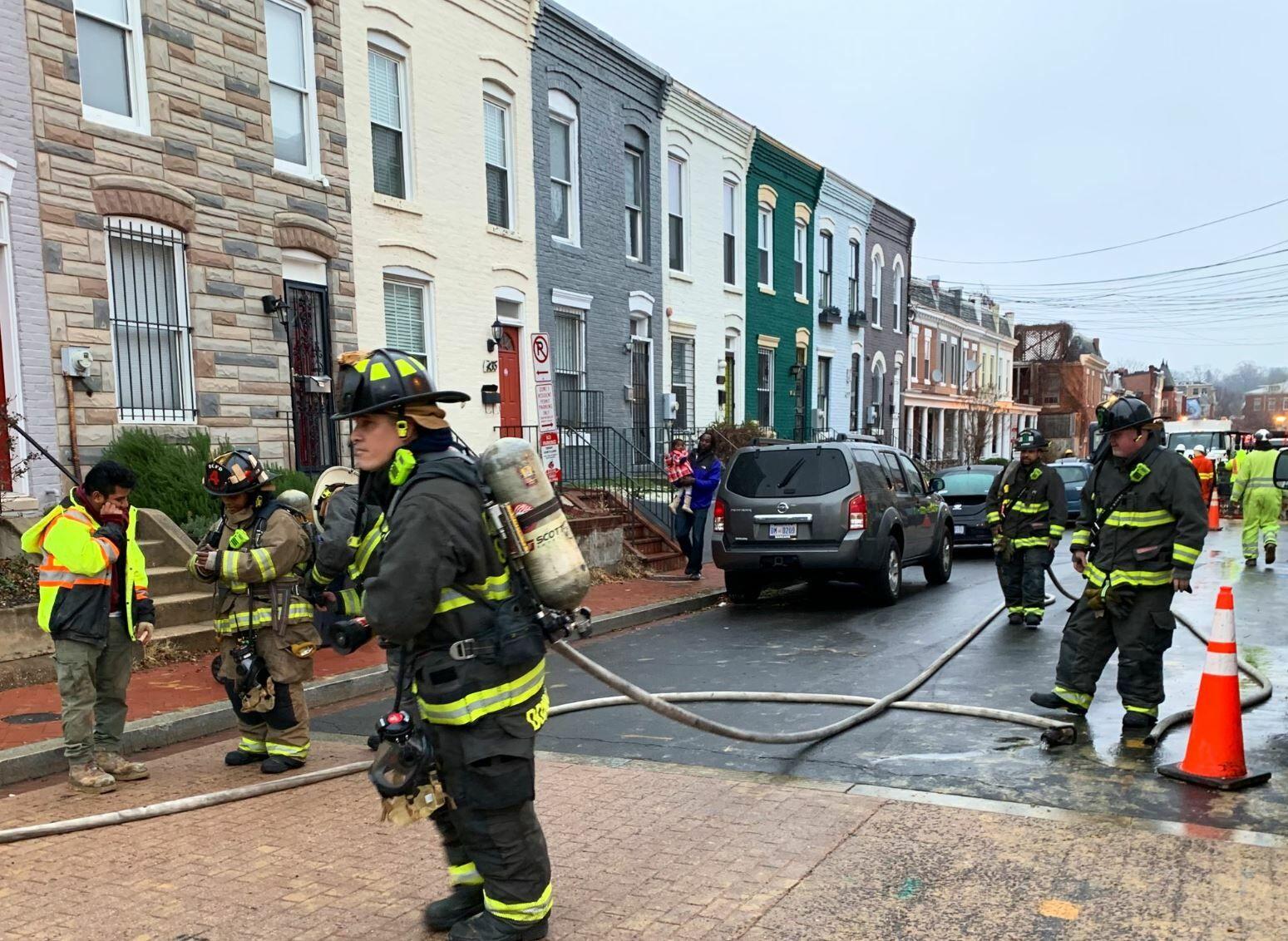 fire leak dc fire
