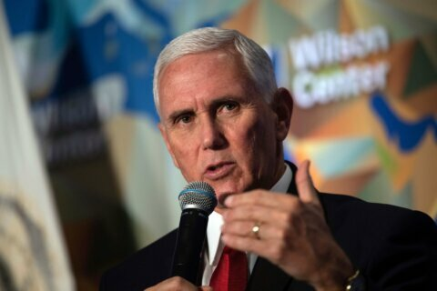 US VP Pence honors Martin Luther King Jr. at church service