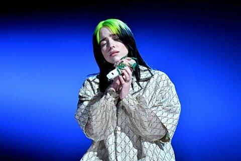 Billie Eilish sales up after Grammys sweep