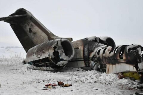 US says mystery crash in Afghanistan was US Air Force plane