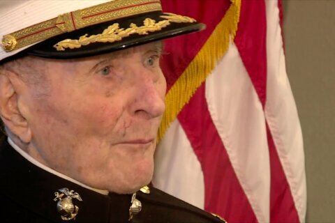 104-year-old Marine Corps veteran wants people to send him Valentine's Day cards