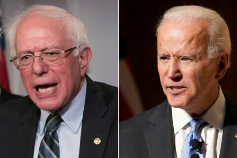 Poll: Bernie Sanders surges to join Biden atop Democratic presidential pack