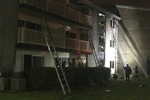 Several rescued, 16 displaced after 2-alarm fire in Laurel