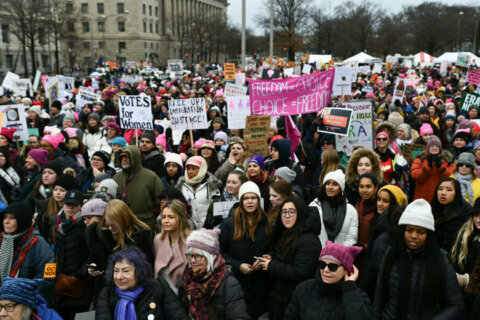 Thousands protested in 4th Women's March on Washington
