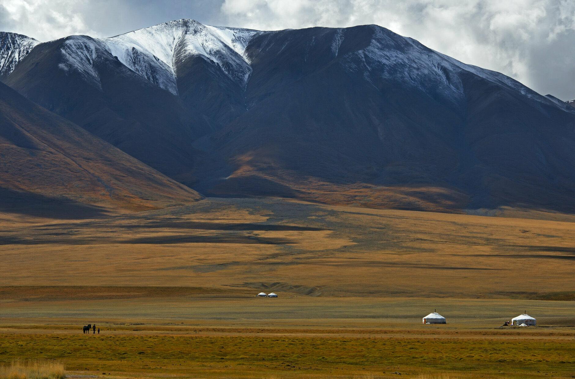 Central-Asian landscape, Mongolia