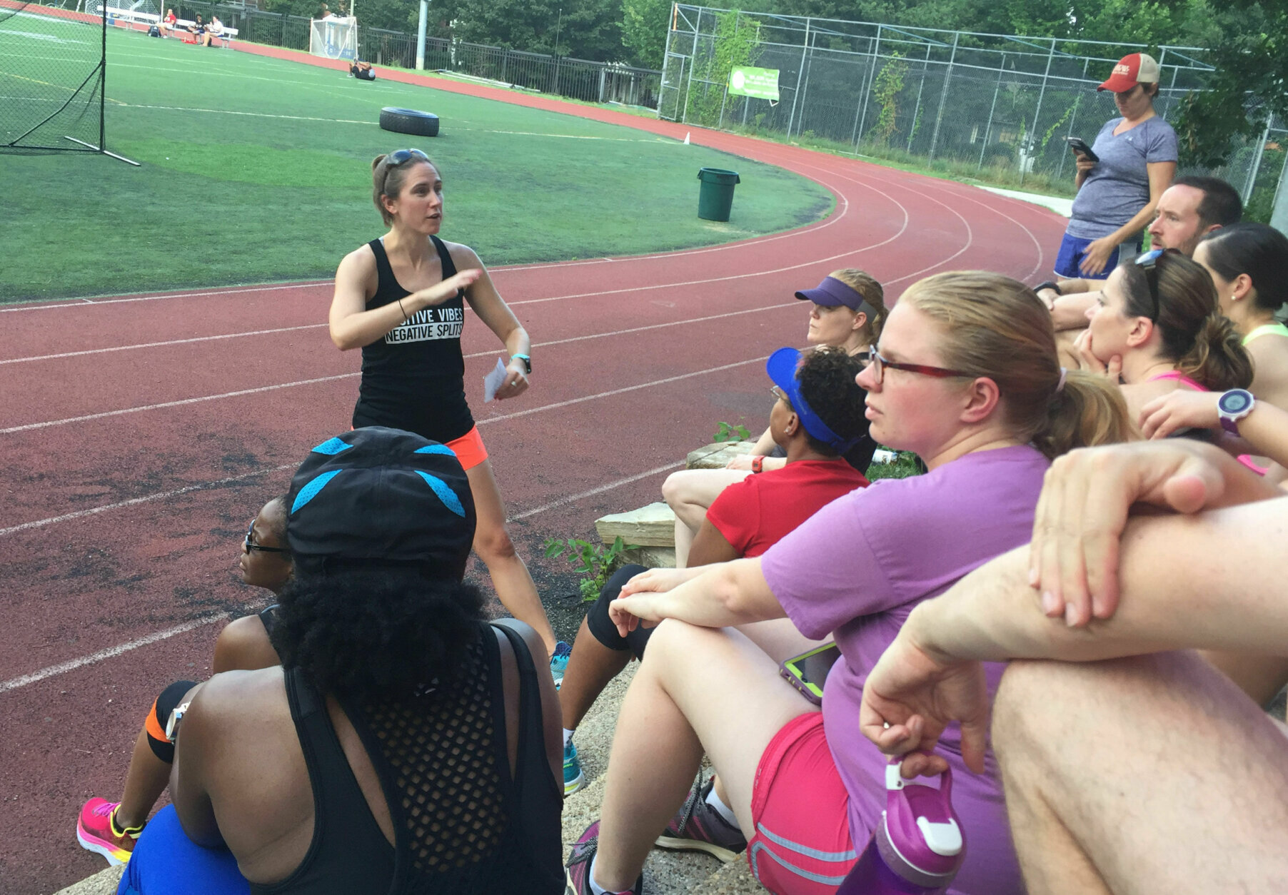 """<p>There are other ways to become a part of a community, too. You can join a running group, like one led by running coach Tammy Whyte, whose <a href=""""https://www.twtrainingwellness.com/"""" target=""""_blank"""" rel=""""noopener"""">TW Training and Wellness</a> aims to help new runners complete their first 5K or 10-miler.</p> <p>""""I&#8217;m not targeting the really fast runners, they generally don&#8217;t need that accountability,"""" Whyte said. """"I'm helping someone who needs the coaching support and the community to run their first long race, or to be consistent with their training. The accountability and the community is a big reason they sign up.""""</p> <p>Whyte also runs on her own time with <a href=""""https://www.districtrunningcollective.com/"""" target=""""_blank"""" rel=""""noopener"""">District Running Collective</a>, a group that engages runners of all levels during runs throughout the week. DRC asks runners to introduce themselves to two new people each time they come out.</p> <p>""""With DRC, the community is so awesome, and I've met so many people. There&#8217;s a lot of diversity, which I like,"""" Whyte said.</p>"""