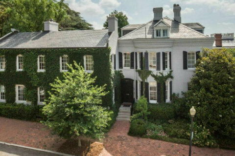 Ted Kennedy's former Georgetown home sells for $12M