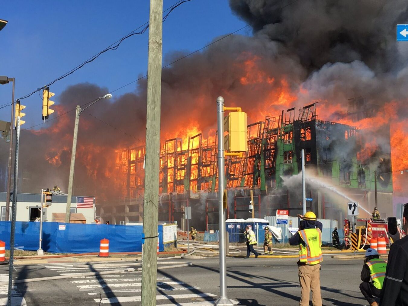 Westlake Legal Group 2-1 Massive Fairfax Co. fire caused $48M in damage; sparked by improperly discarded smoking materials virginia news South Alex Local News Jack Moore fire Fairfax County, VA News fairfax county fire