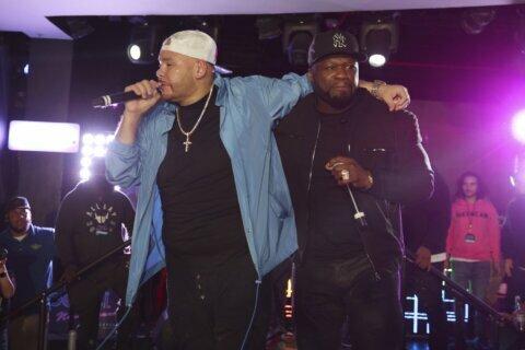 50 Cent, DJ Khaled join Fat Joe at pre-Super Bowl concert