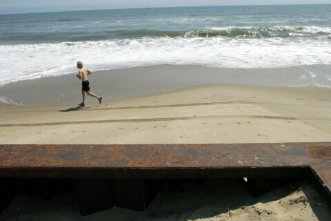 Work begins on $20M beach replenishment project in Va.